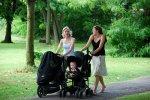na spacerze z dzieckiem